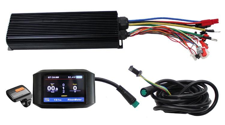 UE DUTY FREE CONHISMOTOR Ebike 750C Display A Colori 48 v 60 v 72 v 3000 w 36 MOSFET Programmabile Reg funzione di 100A FAI DA TE Kit del Controller