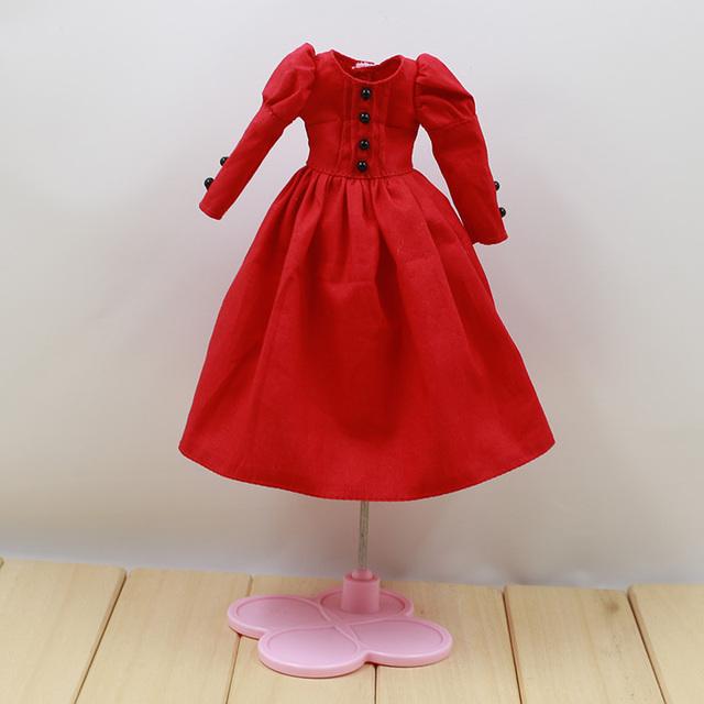 Neo Blythe Doll Retro Dress