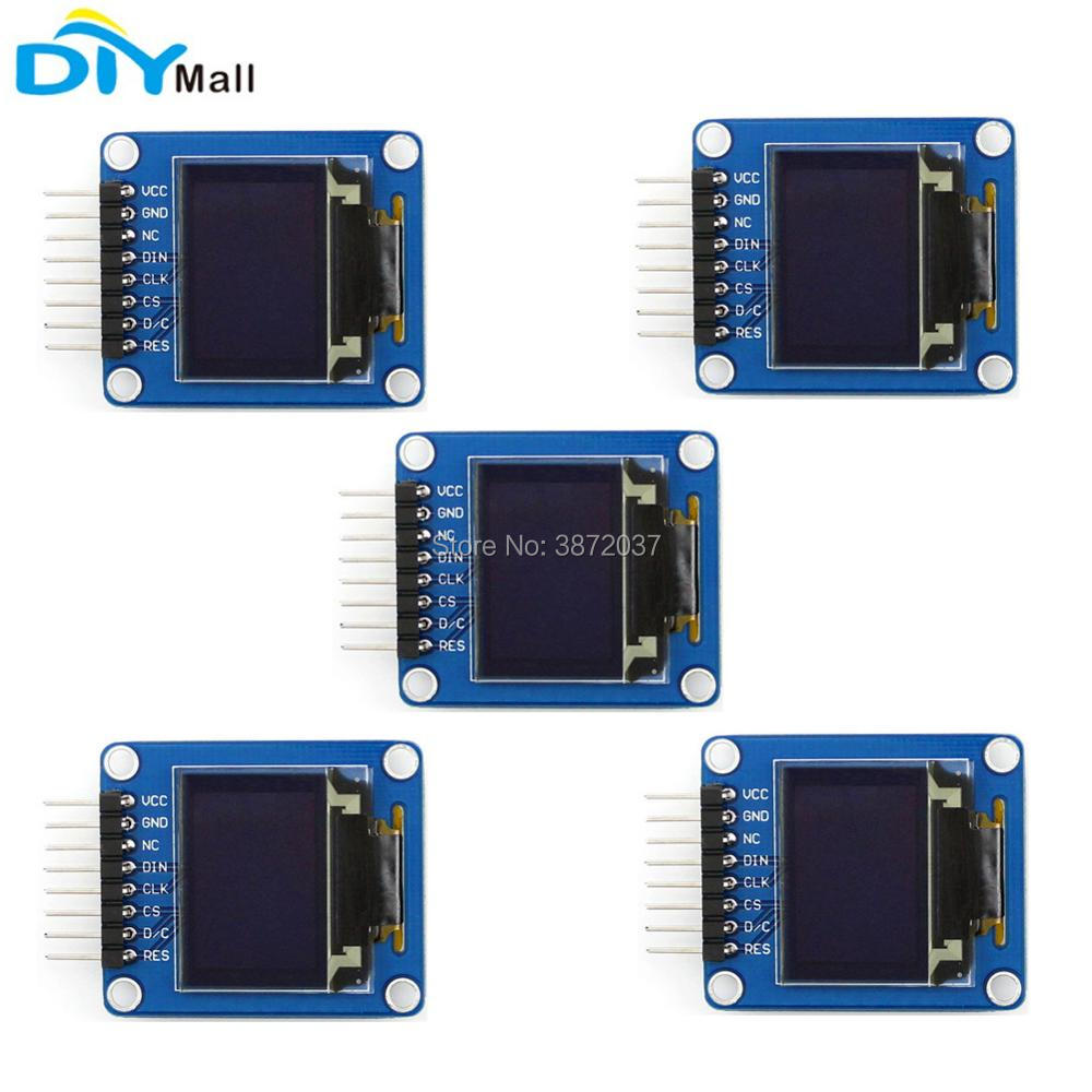 5pcs/lot 0.95 0.95inch RGB OLED Display Module SPI SSD1331 Driver for Arduino