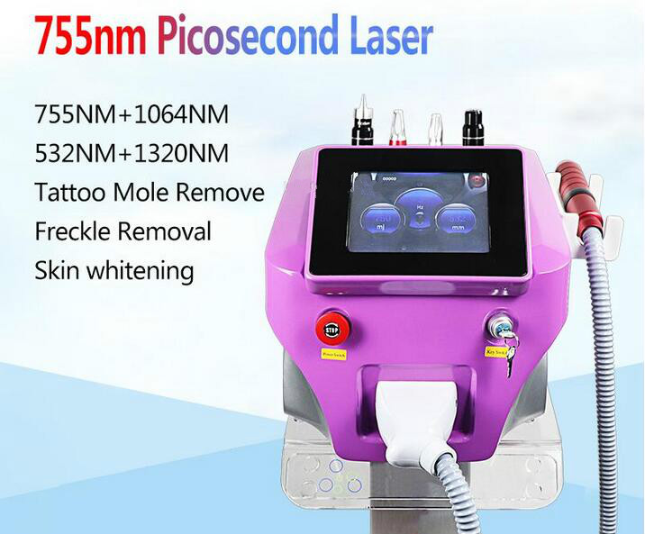 Laser Machine 1064nm 532nm 755nm Tattoo Removal Pigment Freckle Remove Skin Rejuvenation Salon Clinic Use Beauty Equipment