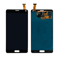 Бесплатная доставка Для Samsung Galaxy Note 4 sm n910a sm n910v Сенсорный экран планшета ЖК дисплей Дисплей сборки мобильного телефона Панель ремонт