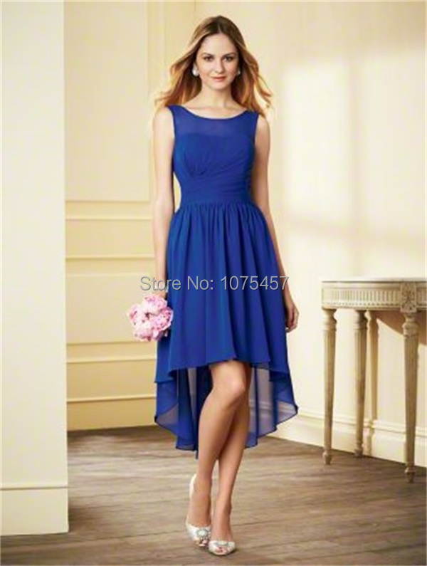 Popular Short Royal Blue Bridesmaid Dresses-Buy Cheap Short Royal ...