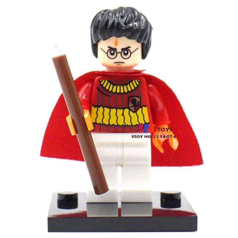 Single Sale star wars superhero marvel Harry Potter Collection building blocks model bricks toys for children brinquedos menino
