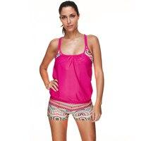 LS1326 Brazilian Cut Bikinis Large Size Swimwear Two Pieces Double Push Up Indoor Swimsuit Tank Top