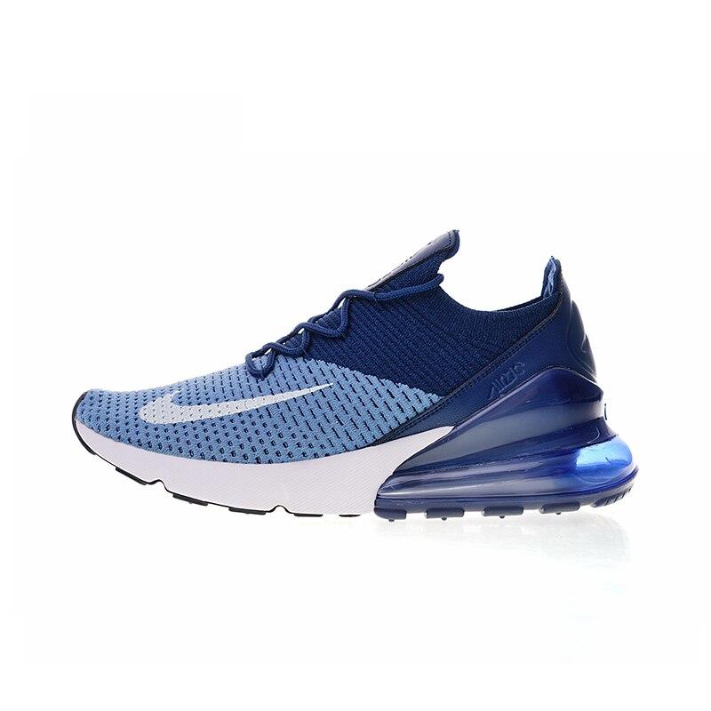 Auténtico Nike Air Max 270 zapatos Flyknit hombres cómodo zapatos 270 corrientes a9d45f