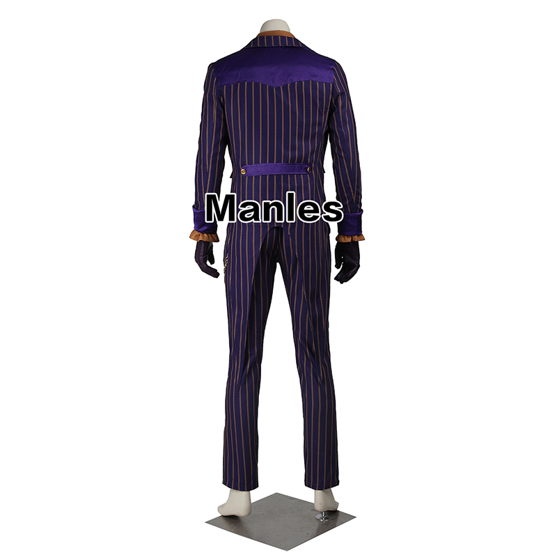 Image 3 - Batman Arkham Knight Joker Cosplay Costume Batman Costume Adult Cosplay Batman Joker Costume Halloween Outfit Male Custom Made-in Movie & TV costumes from Novelty & Special Use