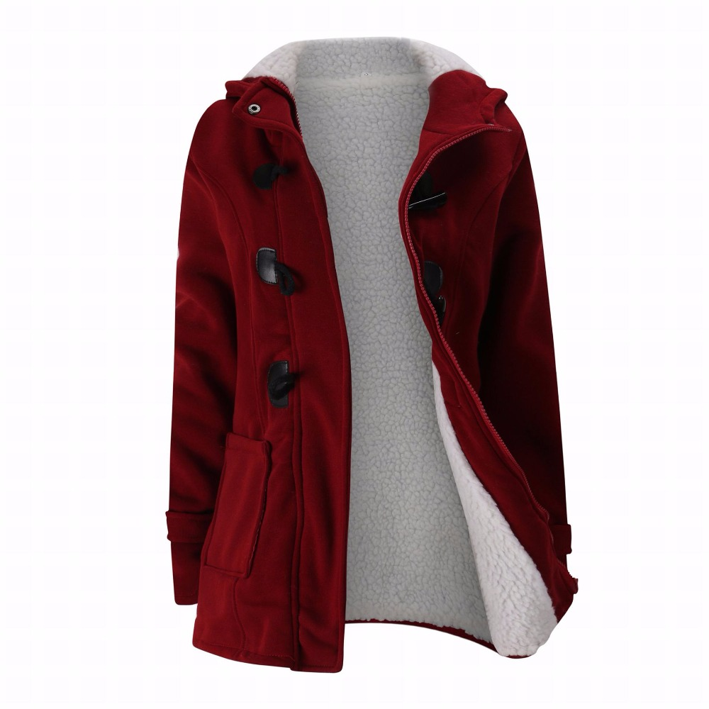 Hot Sale Plus Size Winter Coat Women hooded Jacket Cotton Padded Female Long Section Cashmere Coat Winter Jackets S-6XL hot sale creative style s size women s hair tool