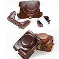High Quality Leather Camera Bag Case Cover for Panasonic LUMIX LX100 DMC-LX100 Camera