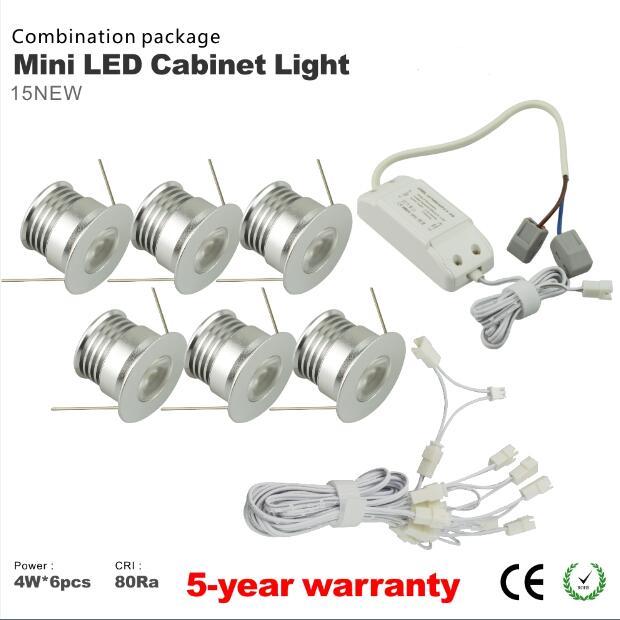 Тегін жүк тасымалдау 6pcs / lot dimmable 4w mini - LED Жарықтандыру - фото 2