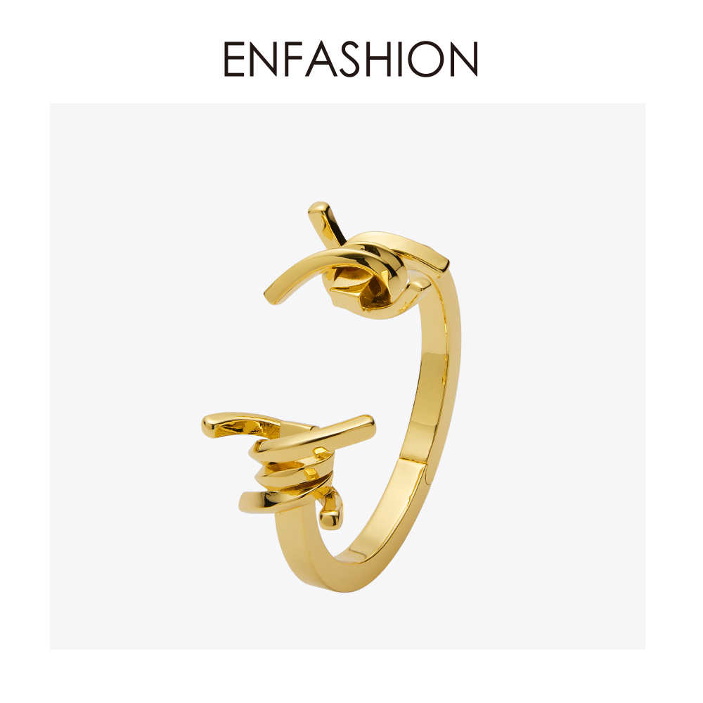 Enfashion Jewelry Thorns Barbed Bracelet Noeud armband Gold color Bangle Bracelet For Women Cuff Bracelets Manchette Bangles