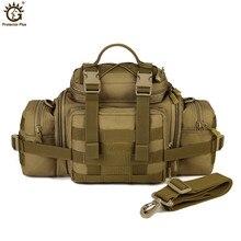 Multifunction Outdoor Large Capacity Sports Shoulder Bag  Handbag Military Black Tactical Pocket sports riding pocket