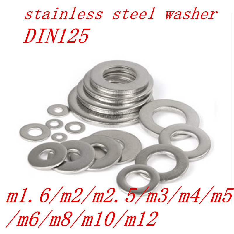 Penny Washers A2 Stainless-Steel  M3 M4 M5 M6 M7 M8 M10 Large//Extra-Large Repair