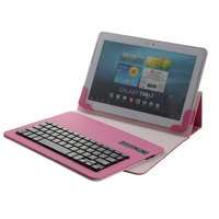 2016 Newly Removable Bluetooth Keyboard Portfolio Leather Case Stand Holder Cover For Acer ICONIA W510 10