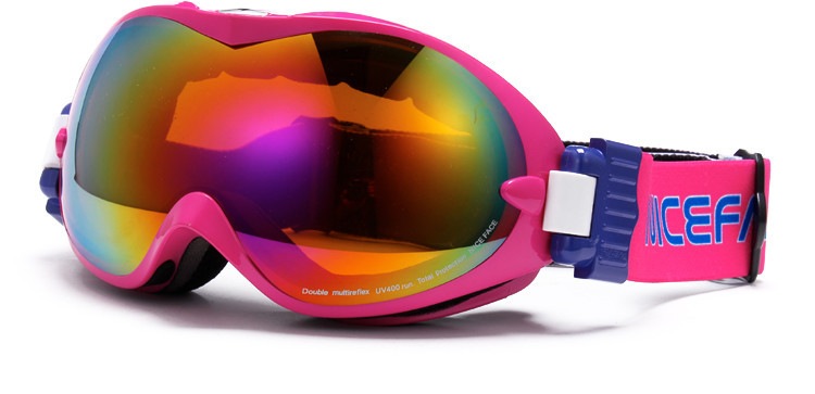 мужская сноуборд очки двухместный решающую красочные линзы L или титан Кэти на лыжах очки комплект близорукость 0099