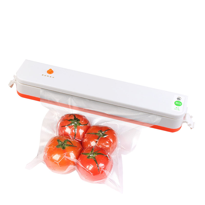 220V/110V Household Food Vacuum Sealer Packaging Machine Film Sealer Vacuum Packer Including 10Pcs Bags white dolphin vacuum food sealer 110v 220v electric household mini food vacuum sealer packaging machine with 10pcs storage bags