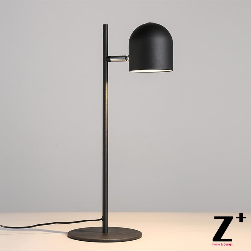 US $199.99 |Modern Nordic Design Table Lamp Led Light Minimalism White  Black Bedroom Living Room Free Shipping abajur-in LED Table Lamps from  Lights & ...
