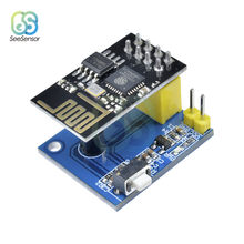 ESP8266 ESP-01 ESP-01S DS18B20 Temperatur Sensor Modul esp 8266 Wifi NodeMCU Smart Home IOT DIY Kit für Arduino(China)