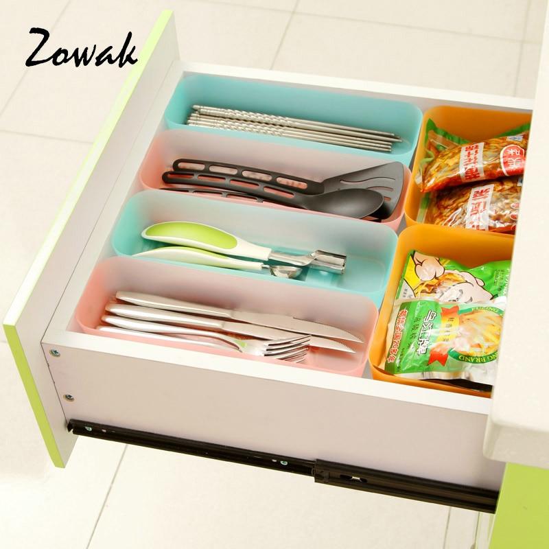 Storage Box Plastic Drawer Storage Cabinets Drawer Organizer Container  Kitchen Home Organizer Tray Case Divider Drawer