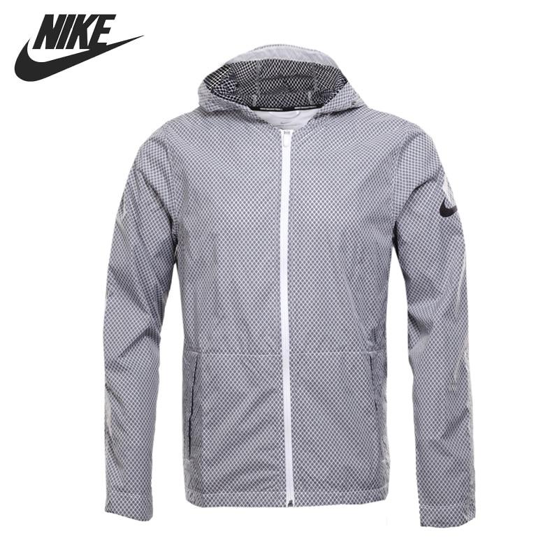 Original New Arrival 2017 NIKE JKT HYPERELITE ALL DAY Men's Jacket Hooded Sportswear original nike men s black knitted jacket hooded sportswear