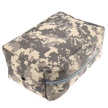 Waterproof Nylon Tactical Molle System Waist Bag Medical Military First Aid Nylon Sling Pouch Durable