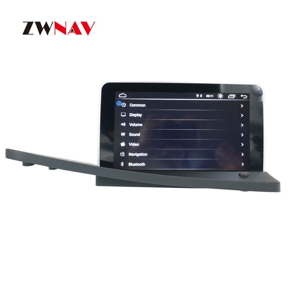 ZWNAV sistema Android reproductor de DVD del coche de navegación GPS para VOLVO S80 S80L 2006-2012 de la Unidad de Radio pantalla