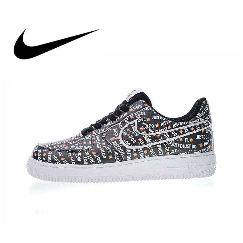 Originale Autentico Nike Air Force 1 JDI PRM uomo Scarpe da pattini e skate Sneakers Outdoor Designer Athletic 2018 Nuovo Arrivo AO3977