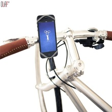 Universal Bike Bicycle Motorcycle MTB Bike Phone Holder Adjustable Handlebar Shockproof With Silicone Support Band for Phone GPS