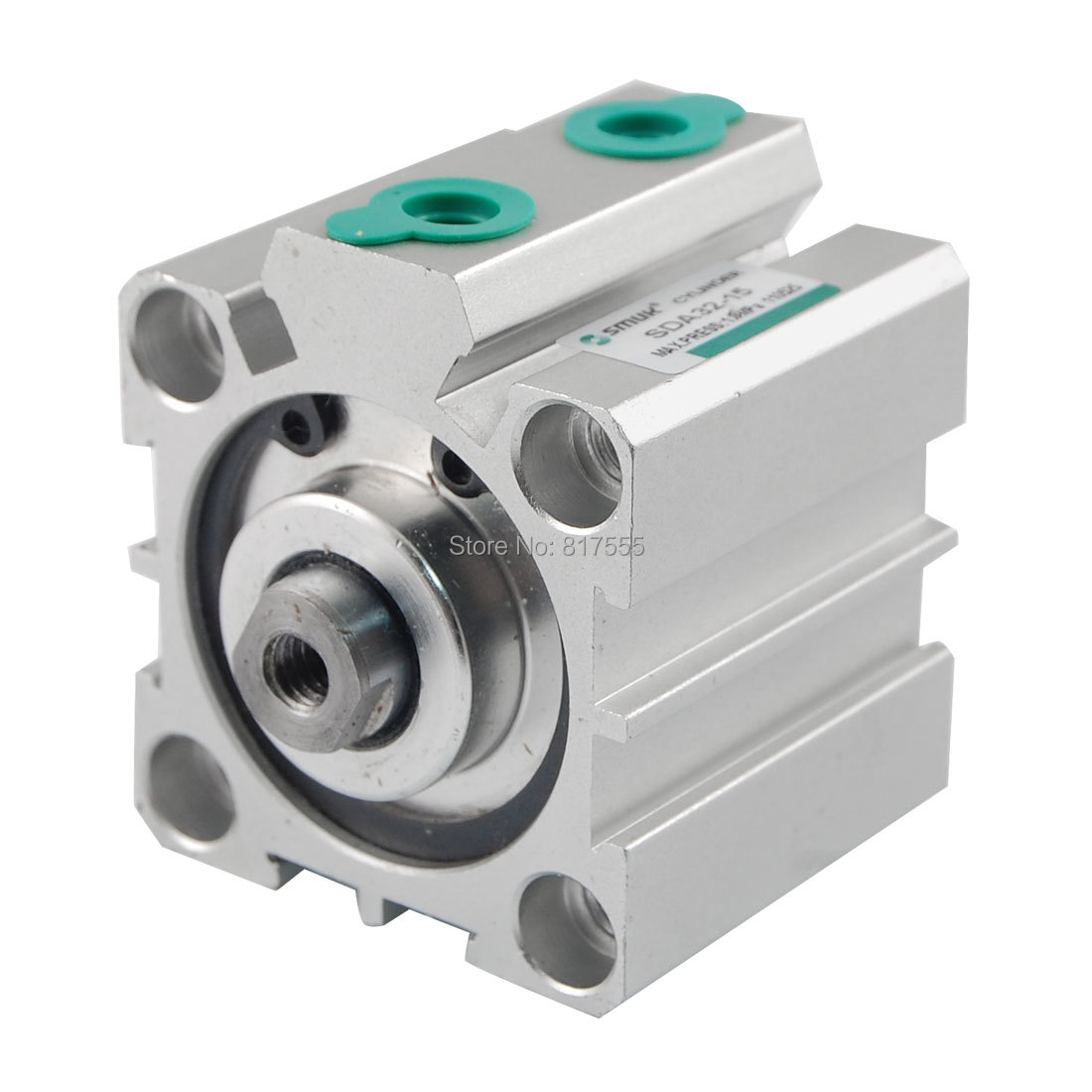 32mm Bore 15mm Stroke Compact Pneumatic Air Cylinder SDA32mm Bore 15mm Stroke Compact Pneumatic Air Cylinder SDA