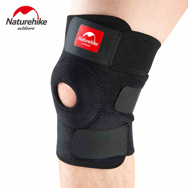 Outdoor Ultrathin Knee Pads Breathable Kneecap Black Elbow Pad Kneepad Sport Basic Protection For Playing Climbing Cycling 88g