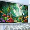 Custom Mural Wallpaper 3D Cartoon Fairy Forest Mushroom Path Wall Painting Children Kids Bedroom Eco-Friendly Photo Wall Papers 4