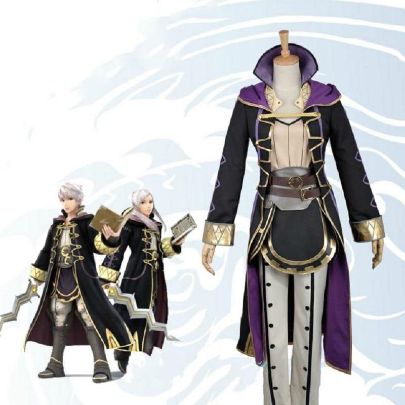 Fire Emblem Awakening Avatar Mai yunitto Robin Daraen Cosplay Costume Game