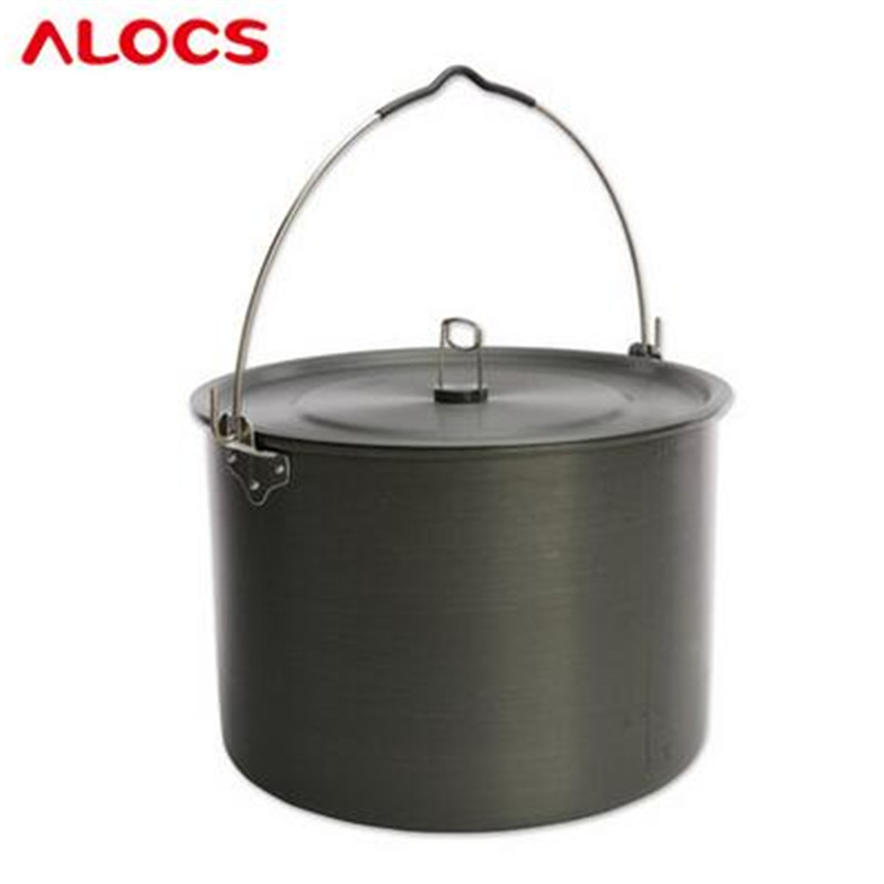 POINT BREAK 15 l oversize hanging pot A single pot camping cooker The CW hanging cooking pot 8-10 people - RT01 cooking light cooking through the seasons