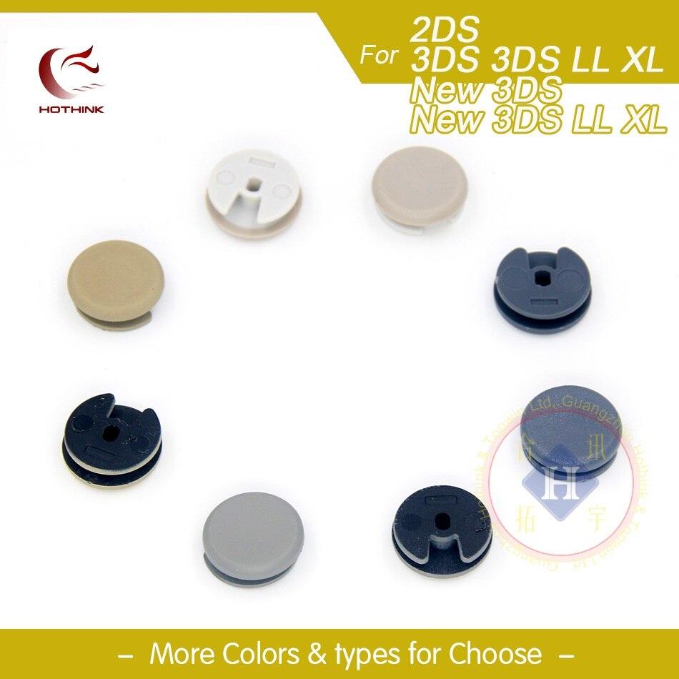 HOTHINK 2PCS/LOT Analog Controller Circle Pad Joystick Stick Cap Cover For 3DS / 3DS LL / 3DS XL / 2DS sesibibi 2pcs цвет случайный xl