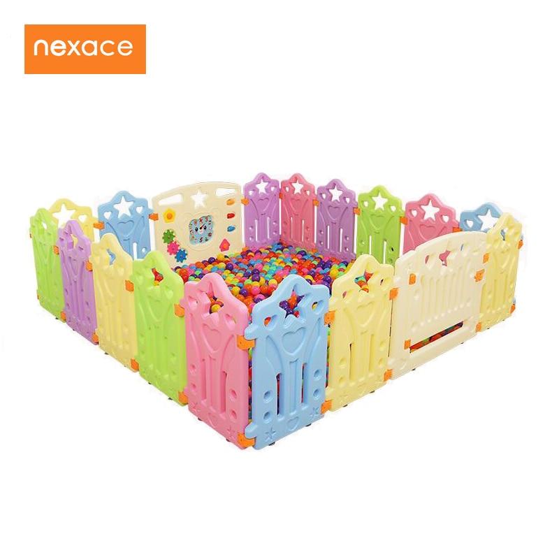 Clôture d'intérieur de parc de bébé pour la cour extérieure de jeu d'enfants d'enfants