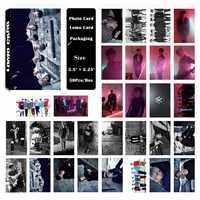 YANZIXG KPOP MONSTA X Album Self Made di Carta Carta di Lomo Photo Card Poster HD Tesserino Ventole Regalo Collezione
