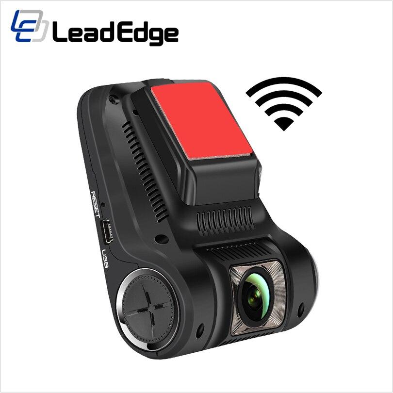 """imágenes para LeadEdge H245 Dash Cam Novatek 96658 Sony IMX322 WiFi 2.45 """"IPS LCD 1080 P de visión nocturna cámara Del Coche DVR Registrator DVR Dashcam"""