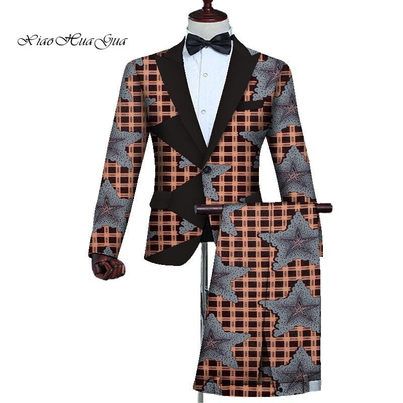 roupas casuais ternos vestido masculino 2 peiece jaqueta + calças wyn727