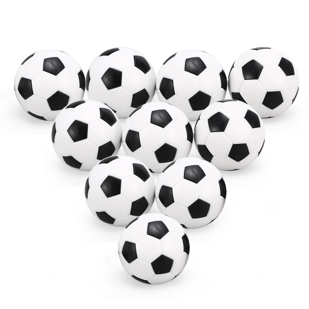 4Pcs / 10Pcs Table Soccer Indoor Games 36mm Foosball Replacement Mini Footballs Table Football For Kids / Adults image