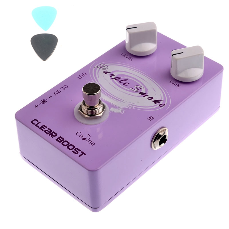 CP-22 Clear Boost Guitar Effects Caline Purple Smoke Guitar Pedals Effect Pedal CP22 Boost Effects Free Shipping