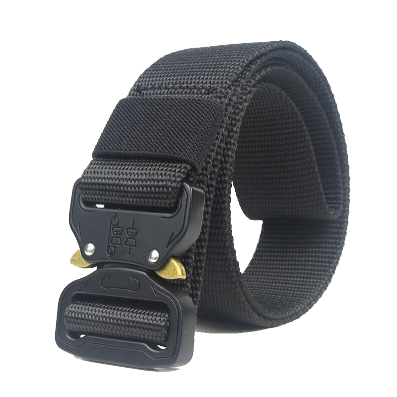 Capable Tactical Gear Men Military Army Combat Training Waistband Airsof Paintball Tactical Belt Molle Belts 125cm