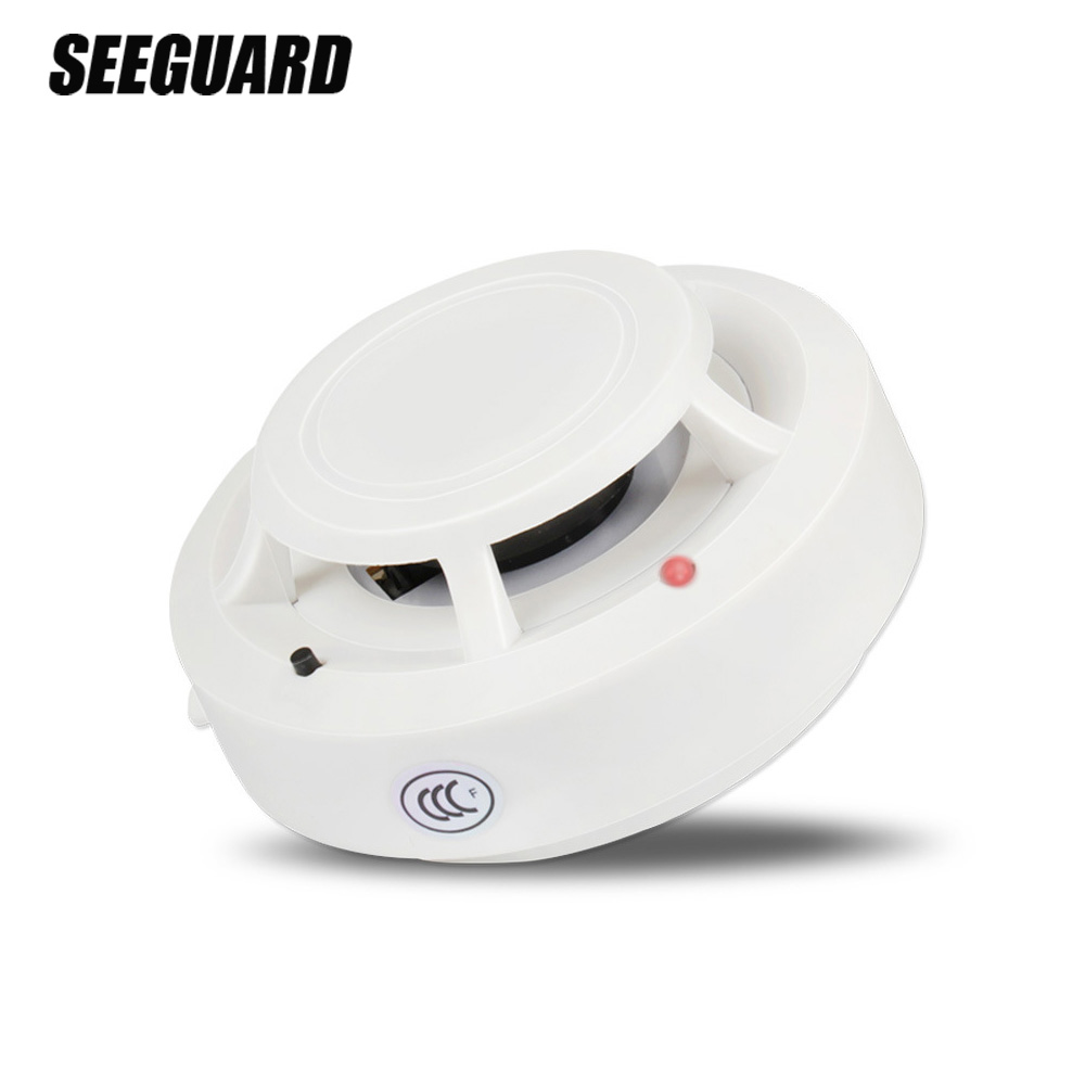 SEEGUARD Smoke Alarm Fire Alarm Detector Home Wireless Smoke Sensor Independent Smoke Detector 3C Certification