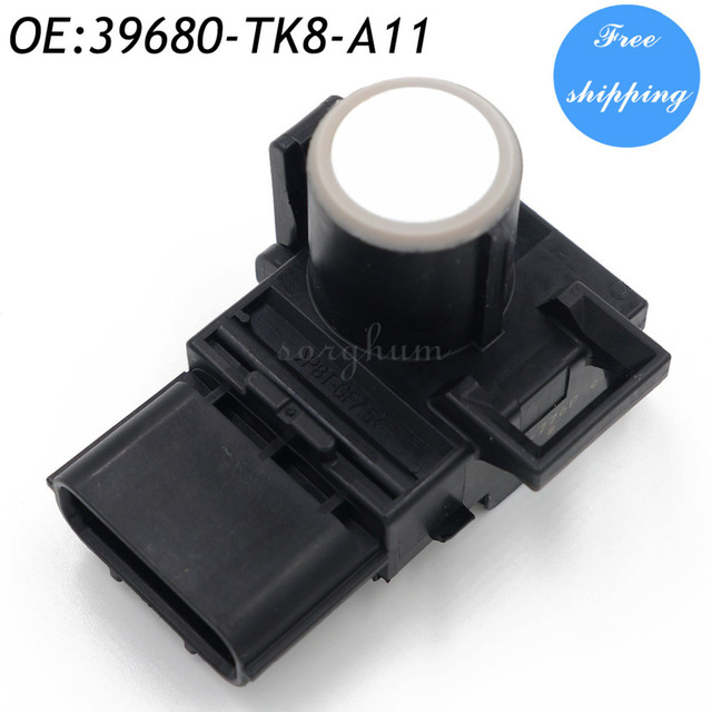 39680-TK8-A11 WHITE PDC Parking Sensor Reverse Assist for Honda 188300-7970 39680-TK8-A11-A0