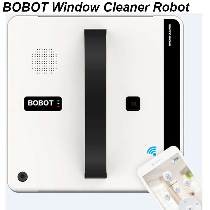 BOBOT Robot Window Cleaning Robotic Window Cleaner App Remote Control Clean Framed Glass Surfaces Mirrors Windows And DoorsBOBOT Robot Window Cleaning Robotic Window Cleaner App Remote Control Clean Framed Glass Surfaces Mirrors Windows And Doors