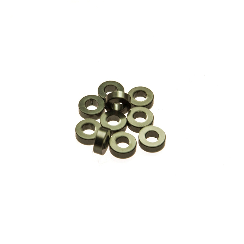 6 X 2mm 10pcs/lot  Spacer Washer RC Car Head Gasket Aluminum Black Free Shiping Top Quality hzdz q 5 bicycle aluminum alloy gasket washer silver black blue red golden 5 pcs