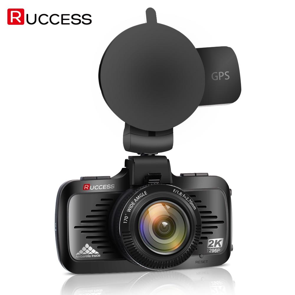 Ambarella A7LA50 Voiture DVR GPS 1296 P Dash Cam Voiture Caméra Full HD Dvr Caméscope Auto Lecteur Caméra Vidéo Enregistreur Dashcam Blackbox