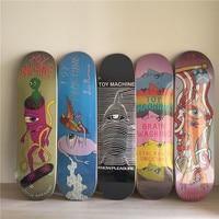 USA BRAND PRO TOY MACHINE SIZE 8*31 New ARRIVAL skate boardind Decks made by Canadian Maple Wood Shape Skateboard Skate Board
