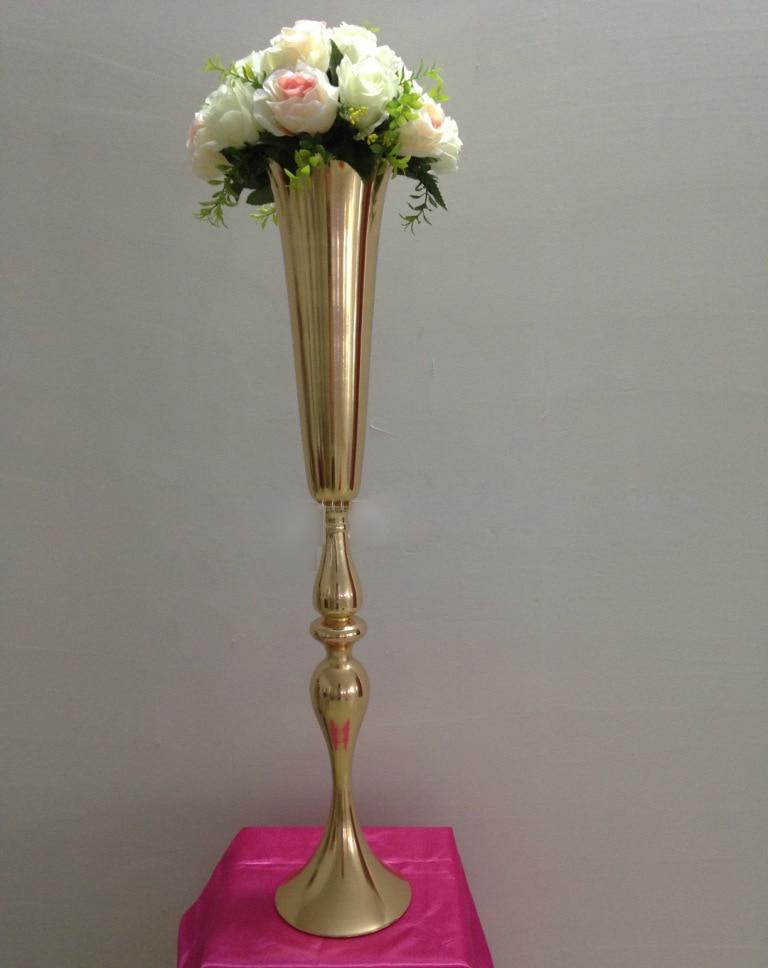Popular Gold Centerpiece Vases-Buy Cheap Gold Centerpiece