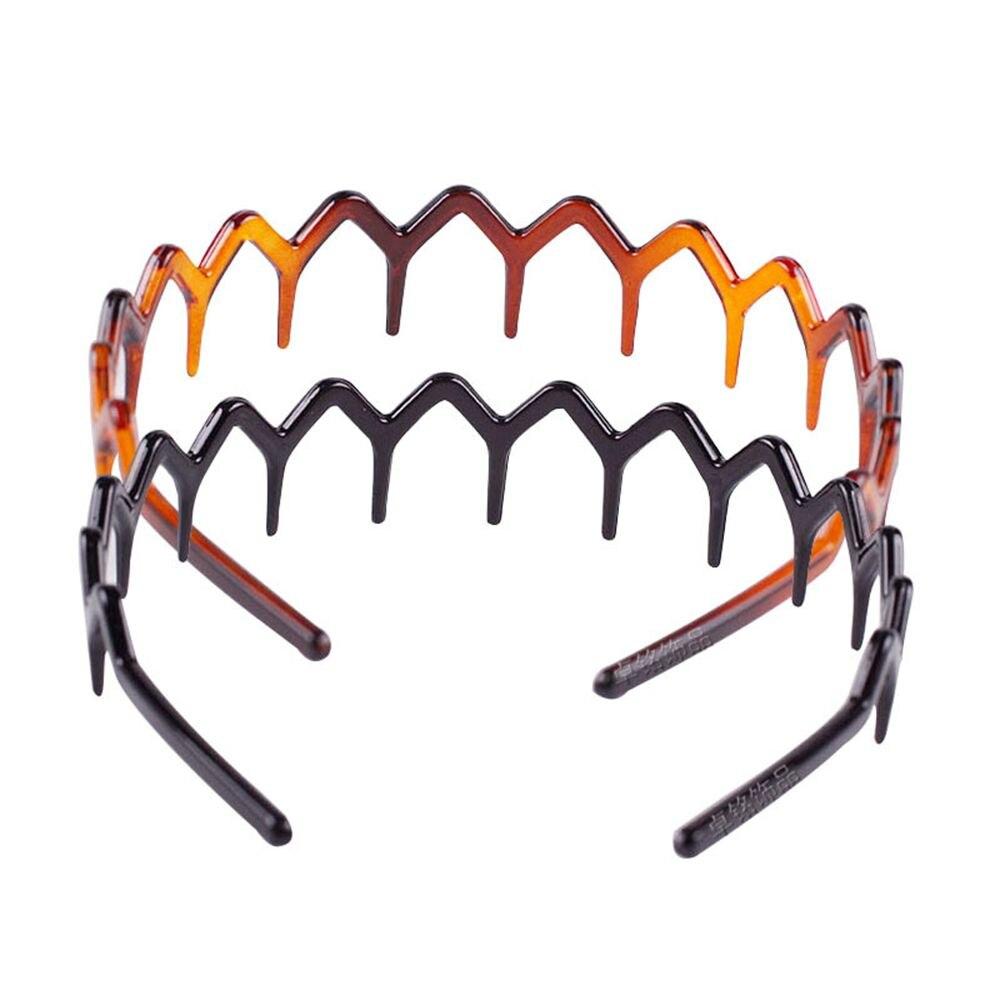 Women Plastic Comb Hairbands Fashion Ladies Headwear Simple Hair Hoop Hair Band Hair Headband For Girls Hair Accessories