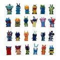2016 Nuevo 1 unids 24 estilo entrega Al Azar 5 cm Anime Cartoon Slugterra Mini PVC Figuras de Acción Juguetes Muñecas Niño juguetes