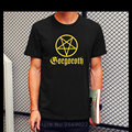 Metal Rock Gorgoroth T Shirt Tees Men Fashion Printed Short Sleeve Cotton Heavy Rock T-shirt Clothing Tee